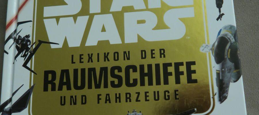 Buchcover Star Wars Lexikon der Raumschiffe und Fahrzeuge